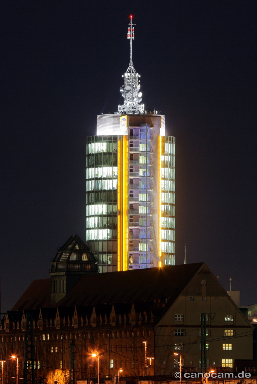 GoYellow Tower, Donnersberger-Brücke, DRI